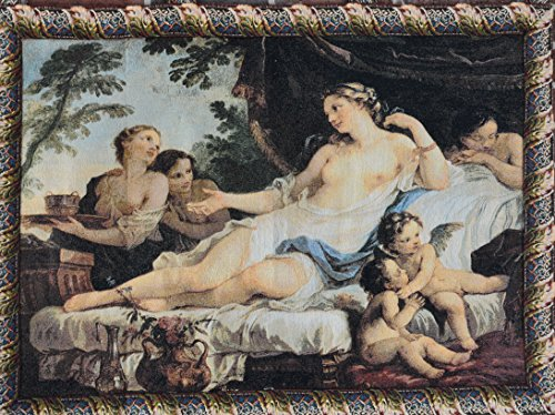 Tache 24 X 33 Inches Awakening of Venus and Angels Tapestry Wall Hanging Art Decor