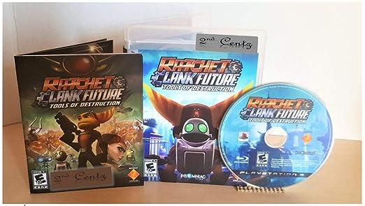 Amazon Com Ratchet Clank Future Tools Of Destruction Ps3 Video