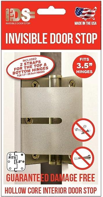Amazon Com Invisible Doorstop Poly Home Improvement