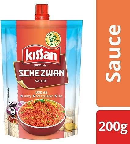 Kissan Sauce, Schezwan, 200g