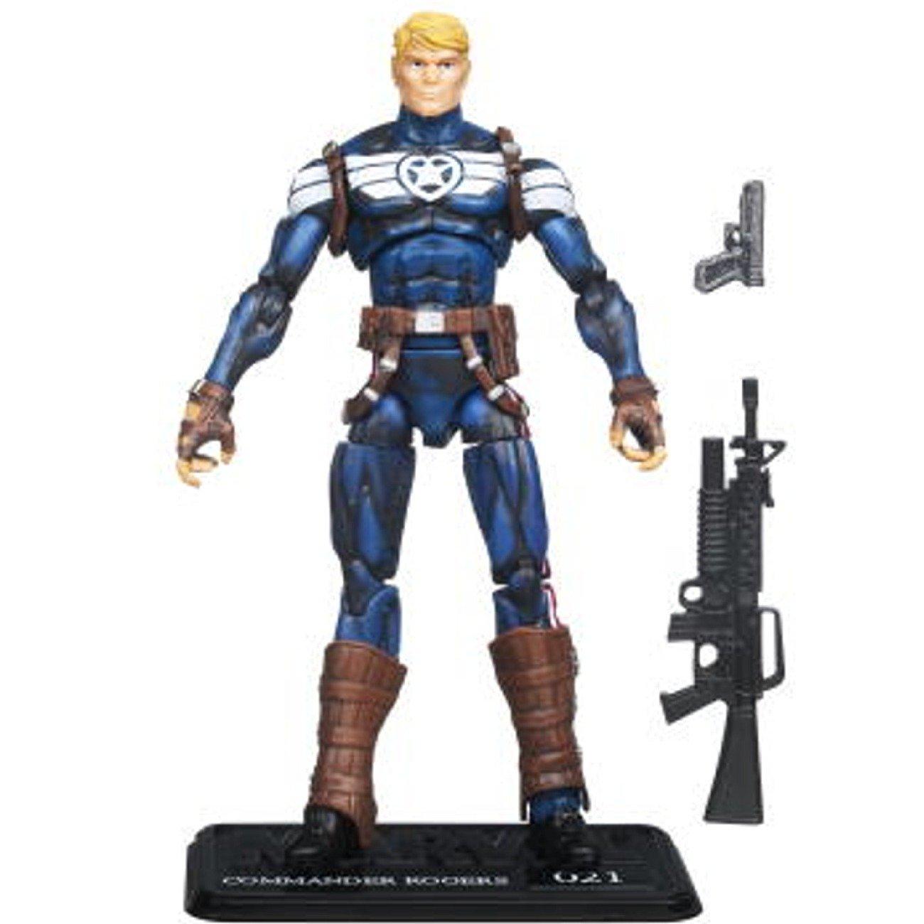 Amazon.com: Marvel Universe Series 3 Action Figure - Steve Rogers Captain  America: Toys & Games