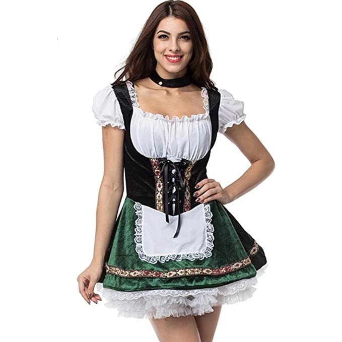 Amazon.com Aiuem Oktoberfest Halloween Costumes for Cospaly