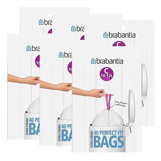 Brabantia dispensador de Bolsas de Basura del Paquete 12 L ...