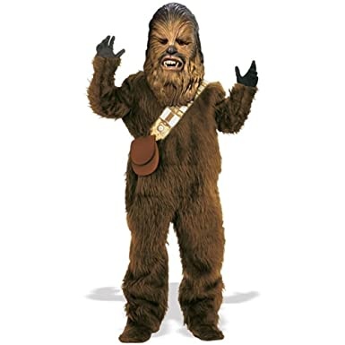 Amazon Com Deluxe Chewbacca Adult Costume X Large Clothing