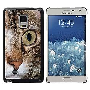 TopCaseStore / la caja del caucho duro de la cubierta de protección de la piel - Maine Coon Eye Feline Pet - Samsung Galaxy Mega 5.8 9150 9152