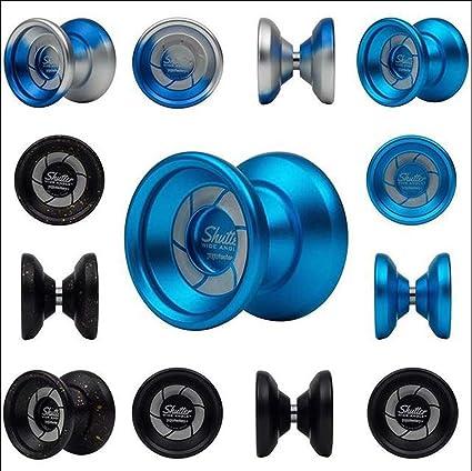 YoYoFactory Wide Angle Shutter Yo-Yo-Bi-Metal Design Look and Style-Gentry Stein