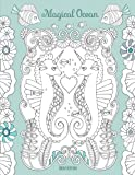 Magical Ocean: A beautiful coloring book for adults