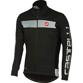 Amazon.com : Castelli 2016/17 Mens Raddoppia Cycling Jacket ...