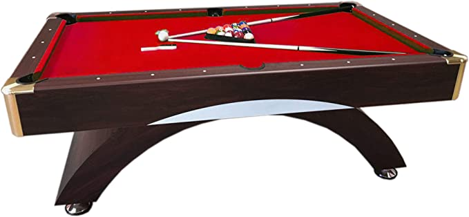 GRAFICA MA.RO SRL Mesa de Billar Juegos de Billar Pool 8 ft Modelo Caesar Rojo Carambola Medición 220 x 110 cm Nuevo Embalado Disponible: Amazon.es: Deportes y aire libre