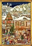 Large Victorian Santa Advent Calendar