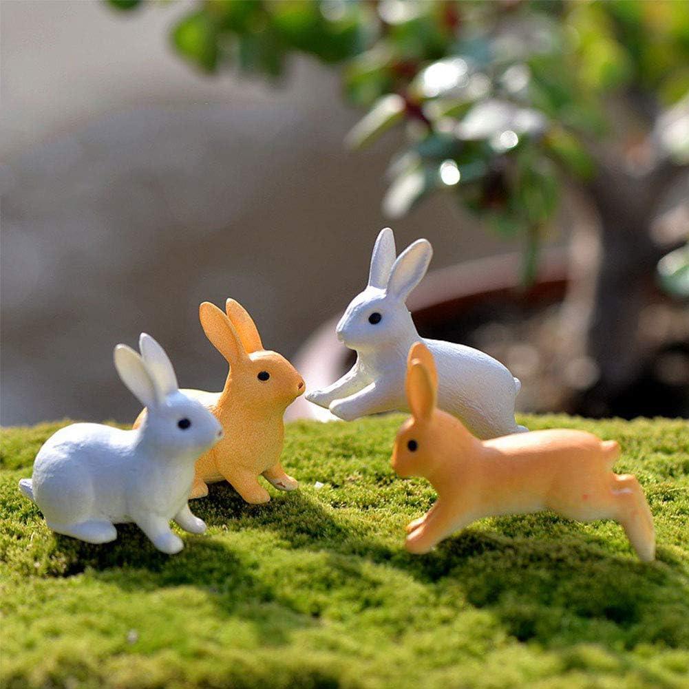 osmanthusFrag Fee Garten Terrarium Landschaft Dekor Kaninchen Ornament Miniatur Figur Ornament 2st Running