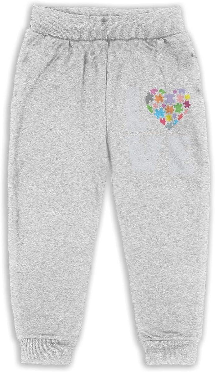 Udyi/&Jln-97 Autism Awareness Unisex Kid Toddler Sweatpants Soft Cozy Boys Girls Jogger Play Pant