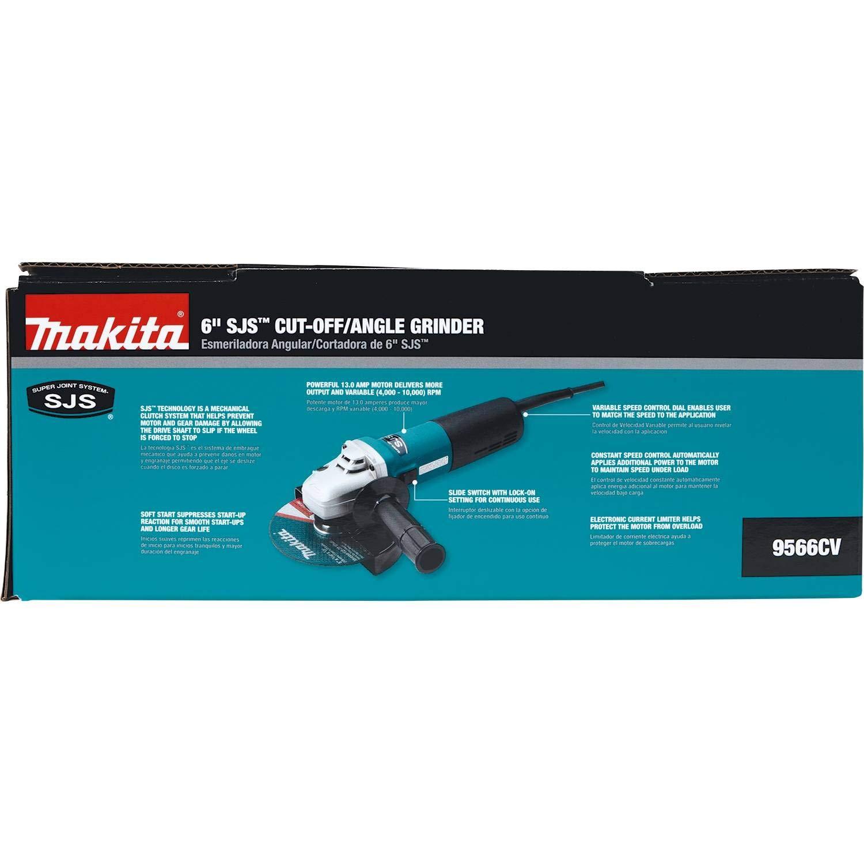 Makita 9566CV 6-Inch Variable Speed Cut-Off//Angle Grinder