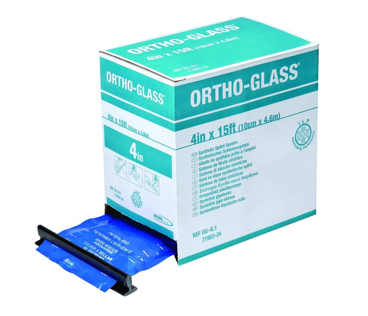Splint Roll Ortho-Glass 5 '' X 15 Foot Fiberglass White