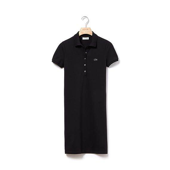 Lacoste Women's Knee Length Ef8470 Dress Fit Slim dBQrCtsxh