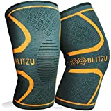 BLITZU Flex Plus Compression Knee Brace Men and Women...