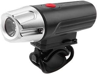 Hillrong Vélo Lampe LED pour vélo Rechargeable USB Lumineux en Alliage d'aluminium 4Modes Phare Avant