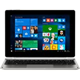 MEDION AKOYA E1239T MD 60429 25,7 cm (10,1 Zoll Full HD Display) Convertible Touch-Notebook (Intel Atom x5-Z8350, 2GB RAM, 128GB Flash-Speicher, Intel HD-Grafik, Win 10 Home) silber