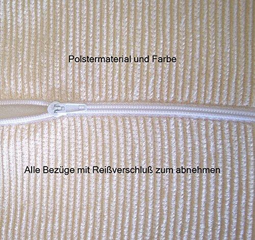 Stodomed Glider Stillstuhl Bezug abnehmbar mit Reißverschluß in Beige