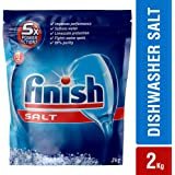 Finish 5X Power Actions Dishwasher Salt, 2kg