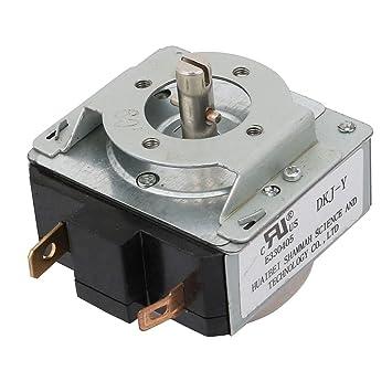 Aexit Horno eléctrico de repuesto Accesorio AC125V 15A 2P Metal ...