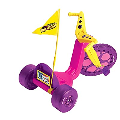 The Original Big Wheel 16 Inch Racer Girls Trike - Pink: Toys & Games