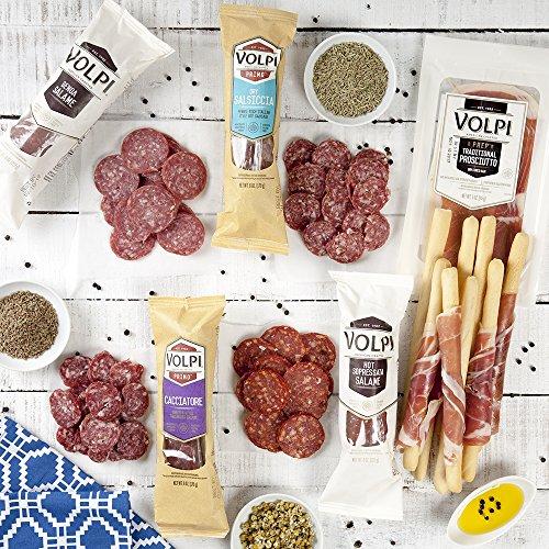 Volpi Salume Snack Assortment   Set of 6