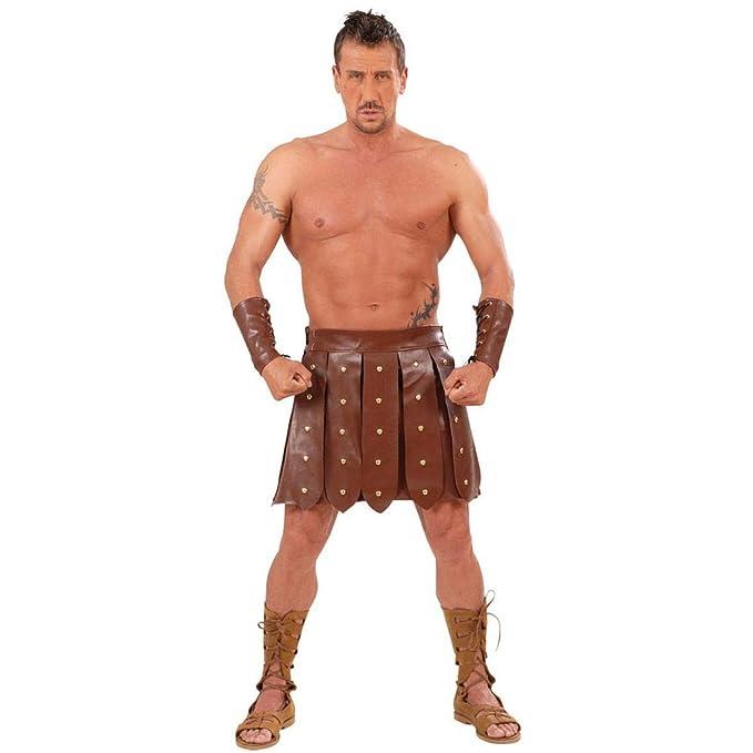 NET TOYS Falda y pulsera de gladiador romano luchador ...