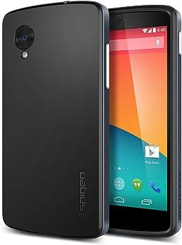 Spigen SGP10562 - Carcasa para Google Nexus 5, gris: Amazon.es ...
