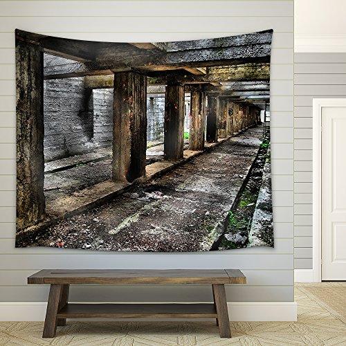 Tunnel Fabric Wall