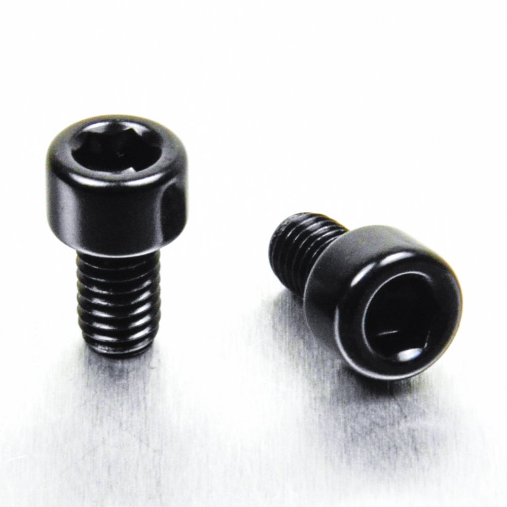 Aluminium Reservoir Mount Bolt Kit Clutch Black