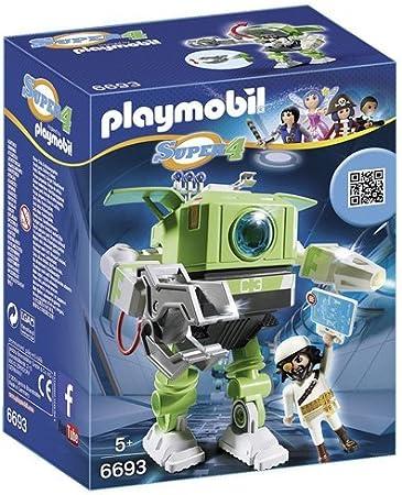 PLAYMOBIL - Cleano Robot, playset (6693)