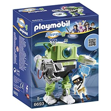 Playmobil 6693 Super 4 Cleano Robot