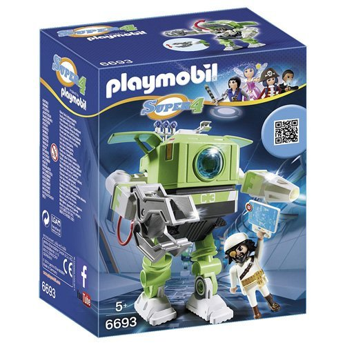 Playmobil-Cleano-Robot-playset-6693