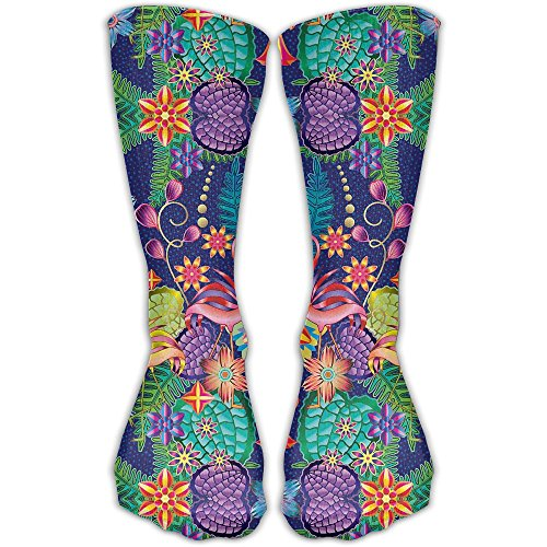 Head Women & Men Socks Soccer Sport Tube Stockings Length -