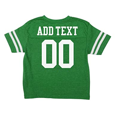 17fe86395 Amazon.com  Custom Football Toddler Shirts  Toddler Vintage Sports ...