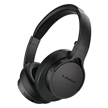78f5373bcfb Avantree HS063 Auriculares Supraurales Bluetooth sin Retardo de Audio Fast  Stream con Micrófono para TV,