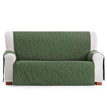 Jarrous Funda Cubre Sofá Práctica Modelo Persia, Color Verde-04, Medida 2 Plazas – 110cm de Respaldo