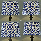 Better Homes and Gardens Irongate Lamp Shade (Pack of 4 BLUE FIRE)