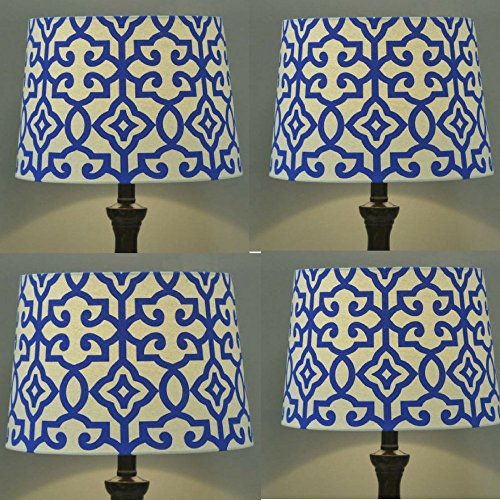 Better Homes and Gardens Irongate Lamp Shade (Pack of 4 BLUE FIRE) by Better Homes and Gardens