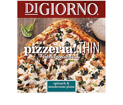 DiGiorno, Pizzeria! Thin, Spinach & Mushroom, 18.0 oz. (14 count) (Mushroom Pizza Spinach)