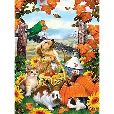 Sunsout 54946 Robinson Autumn Harvest Puzzle 1000 Pezzi