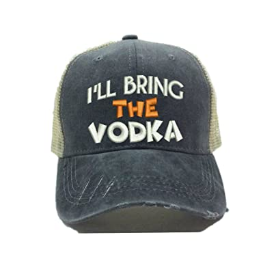 8b777e13ba I ll Bring The Alcohol Or Bad Decisions Custom Hats For Men Women ...