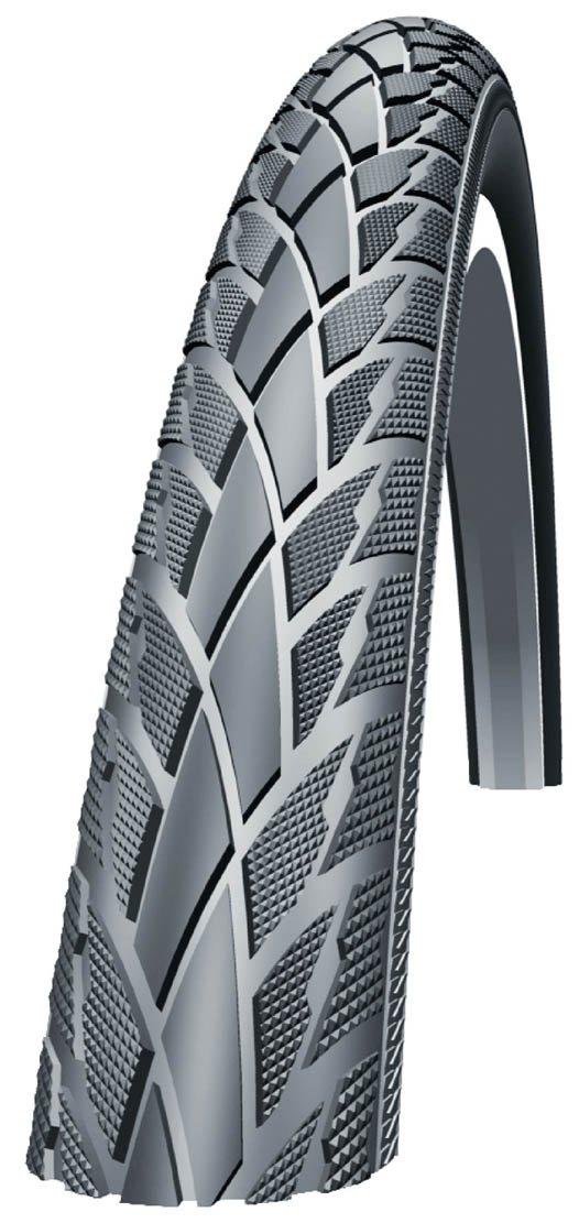 Schwalbe Road Cruiser HS 377マウンテンバイクタイヤ。 – ワイヤビーズ。 B0062TQICM 700 x 40C ブラック ブラック 700 x 40C