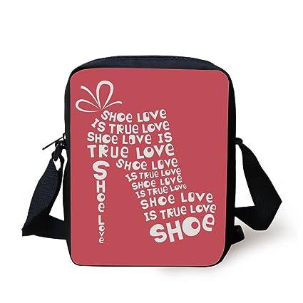 Amazoncom Iprint Quotes Decor Shoe Love Is True Love