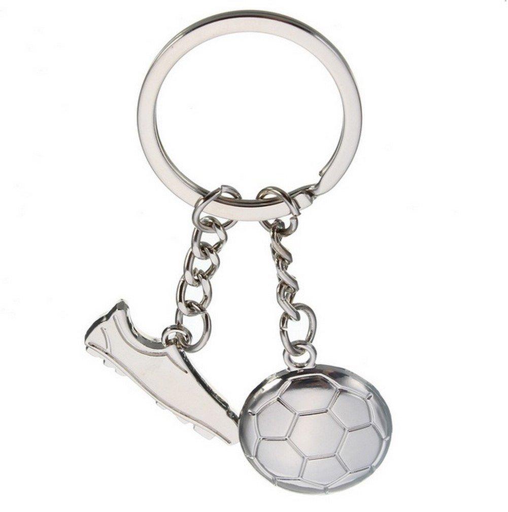 Llavero, joyas, baloncesto &-Balón de fútbol de acero inoxidable ...