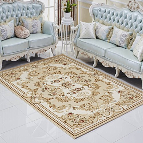 Court Cocktail - YAGNXIAOYU European American Court Carpet Fashion Living Room Bedroom Coffee Table Sofa Bed Full Carpet Floor Mats ( Color : C , Size : 120170cm )