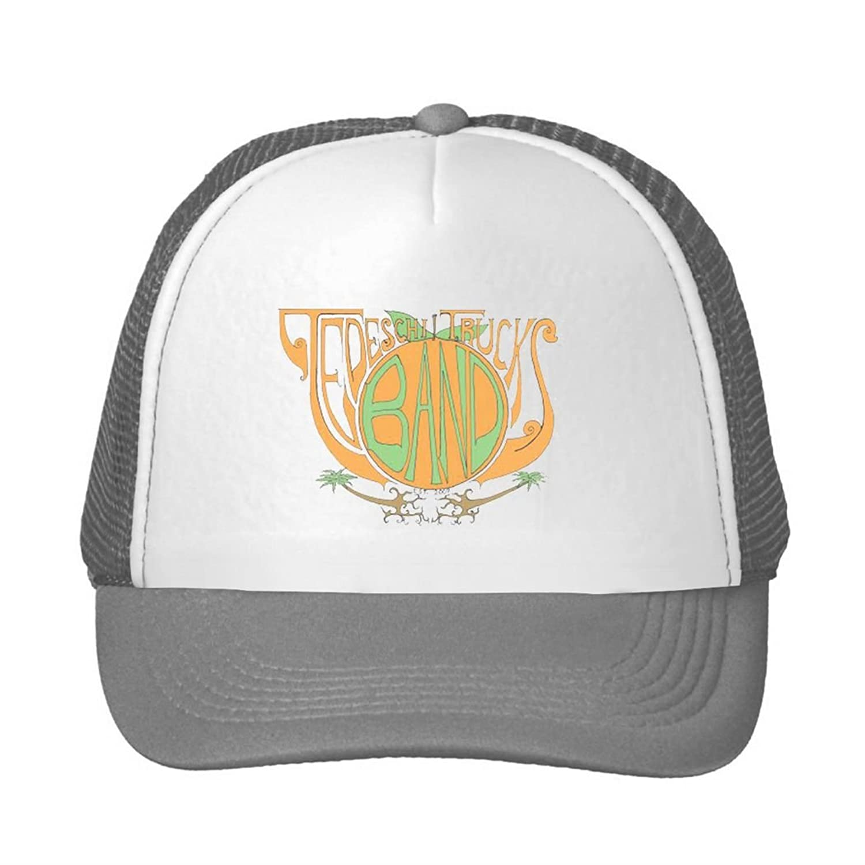 Men Women Tedeschi Trucks Band 2016 Tour Logo Sun Mesh Cap Adjustable Cap Trucker Hats