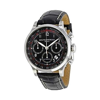 Los Angeles 90283 20e49 Baume & Mercier Men's BMMOA10084 Capeland Analog Display Swiss Automatic  Black Watch