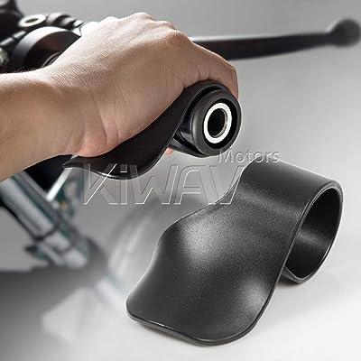KiWAV Motorcycle Throttle Holder Cruise Assist Rocker Rest Accelerator Assistant Universal: Automotive [5Bkhe0406059]